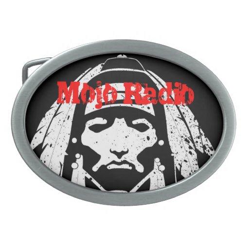 Mojo Radio - belt buckle