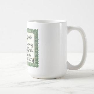 Mojo's Craptacular Certificate Merch Mugs