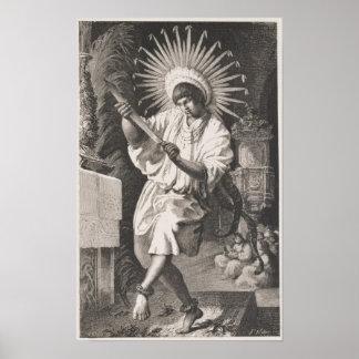 Mojos Indian Poster
