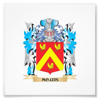 Mojzis Coat of Arms - Family Crest Photograph