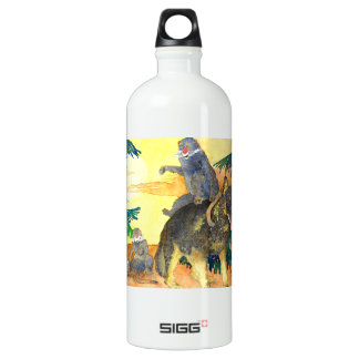 MOKA & EEGH- THE GREEN FEATHER SIGG TRAVELLER 1.0L WATER BOTTLE