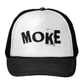 Moke tough guy humor hat