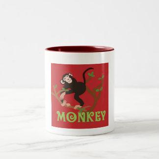 Mokey Pic Zoo Coffee Mug