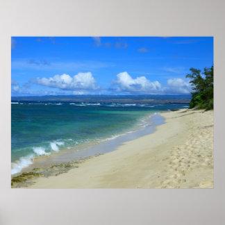Mokuleia Beach, Hawaii Poster