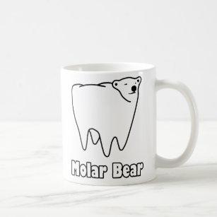 Molar Bear Polar Tooth Bear Coffee Mug