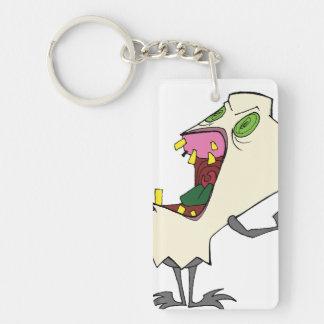 """""""MolarMadness"""" Zombie Tooth® Keychain"""