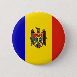 Moldova 6 Cm Round Badge