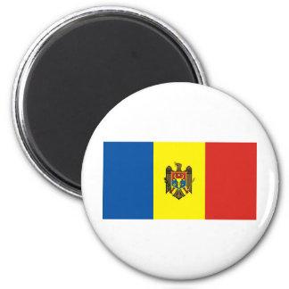 Moldova 6 Cm Round Magnet