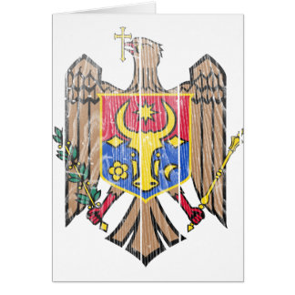 Moldova Coat Of Arms Card