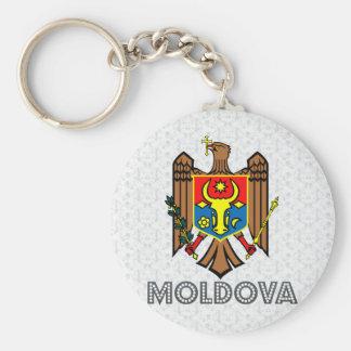 Moldova Coat of Arms Key Ring