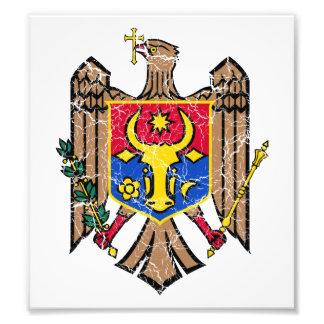 Moldova Coat Of Arms Photographic Print