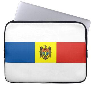 Moldova country flag nation symbol republic laptop computer sleeves