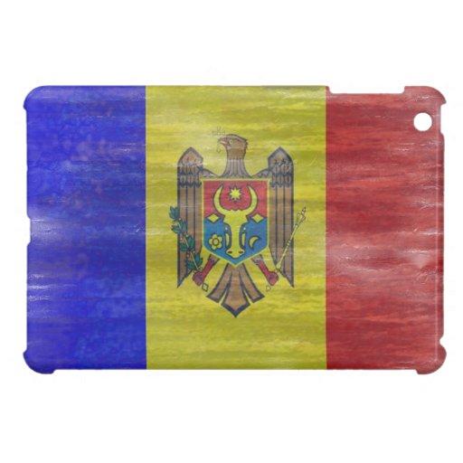 Moldova distressed Moldovan flag Case For The iPad Mini