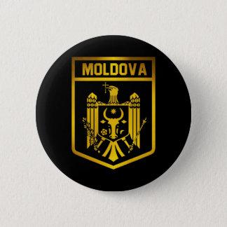 Moldova Emblem 6 Cm Round Badge
