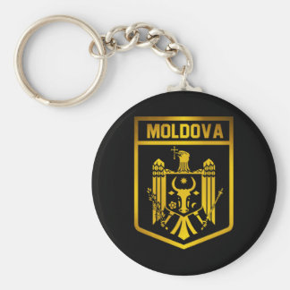 Moldova Emblem Key Ring