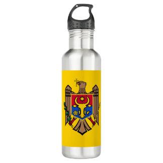 Moldova Flag 710 Ml Water Bottle