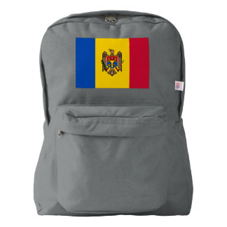 Moldova Flag Backpack