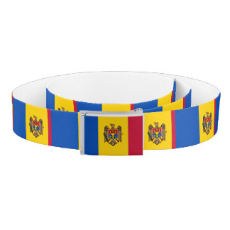 Moldova Flag Belt
