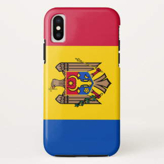 Moldova Flag iPhone X Case
