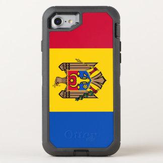 Moldova Flag OtterBox Defender iPhone 8/7 Case