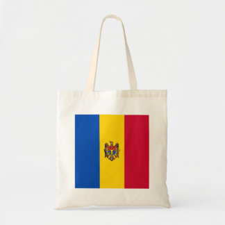 Moldova Flag Tote Bag