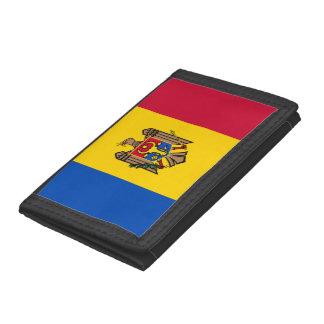 Moldova Flag Trifold Wallet
