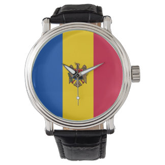 Moldova Flag Watch