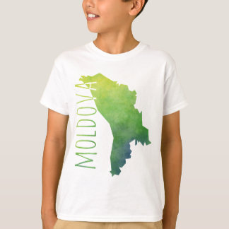 Moldova Map T-Shirt