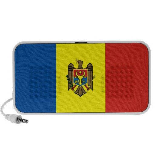 moldova republic country flag doodle speakers