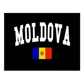 Moldova Style Postcard