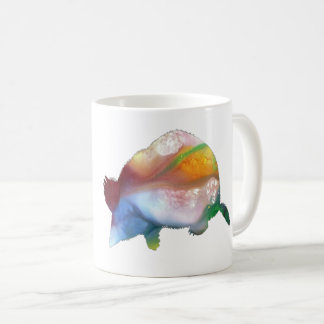 Mole art coffee mug
