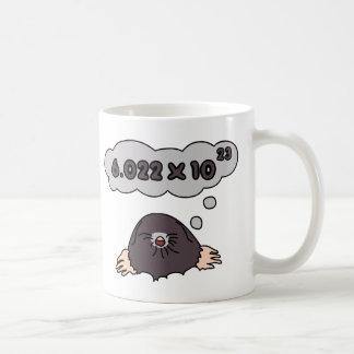 Mole Basic White Mug