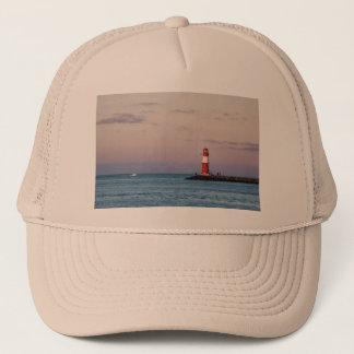 Mole in Warnemuende Trucker Hat