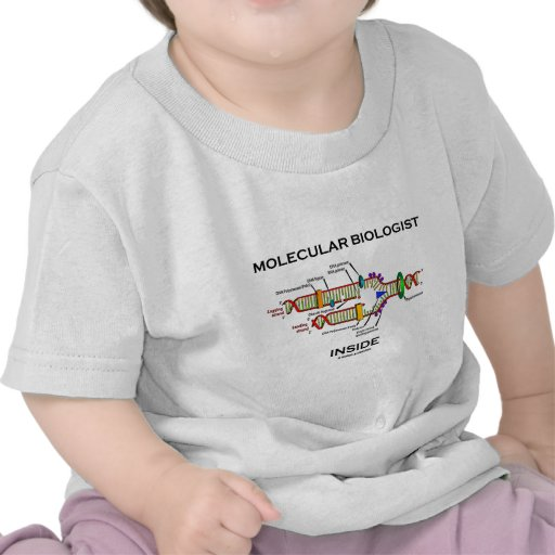 Molecular Biologist Inside (DNA Replication) Shirts