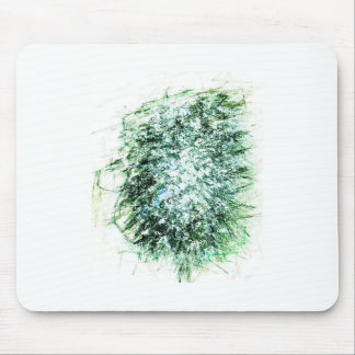 Molecular fir tree interpolation mouse pad