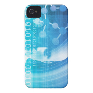 Molecule Background as a Science Abstract Concept iPhone 4 Cover