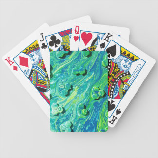 Molecules At Play Bicycle Playing Cards