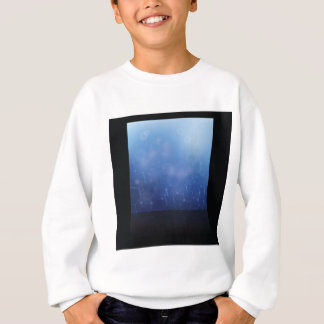 molecules background sweatshirt