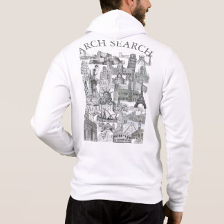 Moletom Arch Mural Search Hoodie