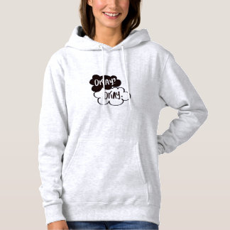 Moletom with Pointed hood of the Book the guilt is Hoodie