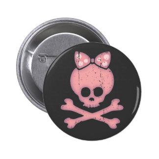 Molly Bow Dot 6 Cm Round Badge