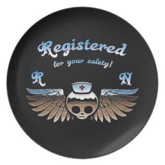 Molly Chrome RN -217 Party Plate