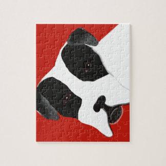 Molly Dog Bulldog Jigsaw Puzzle