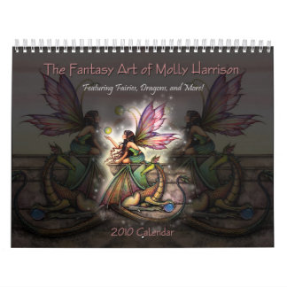Molly Harrison 2010 Fantasy Art Calendar