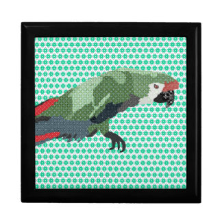 Molly Macaw Green Gift Box