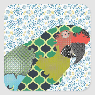 Molly Macaw Sticker