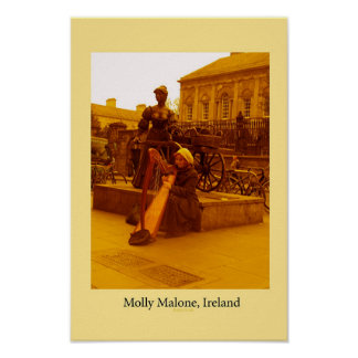 Molly Malone, Ireland Poster