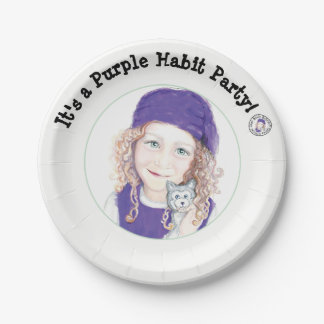 Molly McBride Party Plates 7 Inch Paper Plate