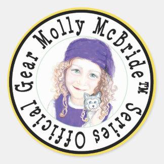 Molly McBride Stickers! Classic Round Sticker