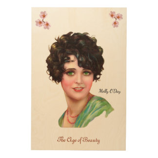 Molly O'Day Wood Print
